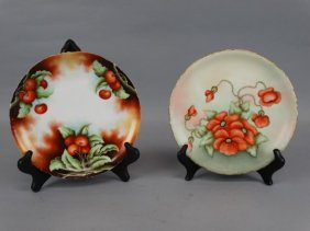 Lot Of 2 Hand Painted Rosenthale Cabinet Plates