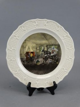 Delano Studios - Currier & Ives Plate