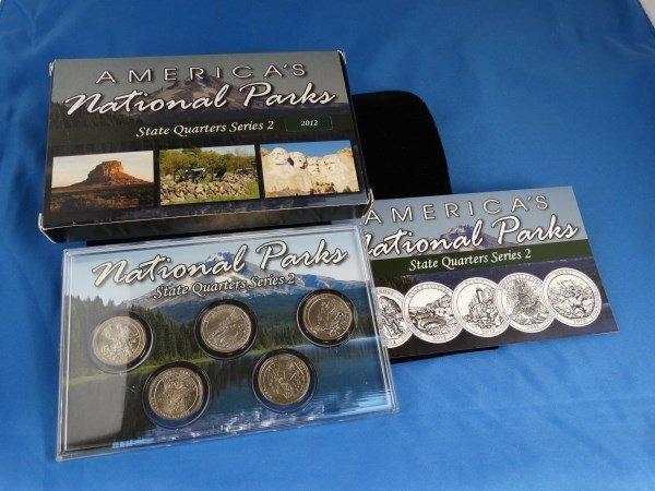 2012 U.S. Mint National Parks Quarter Set