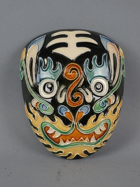 Painted East Asian Mask