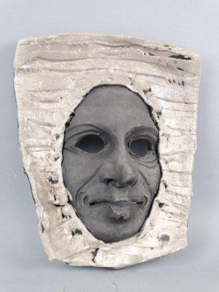 Art Pottery Wall Mask