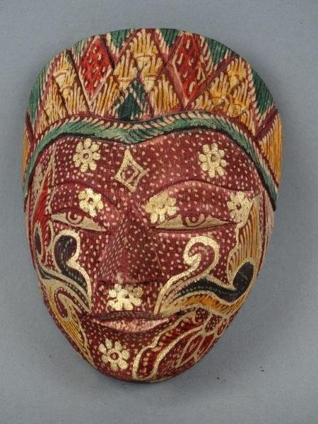 Small Carved Thai Mask