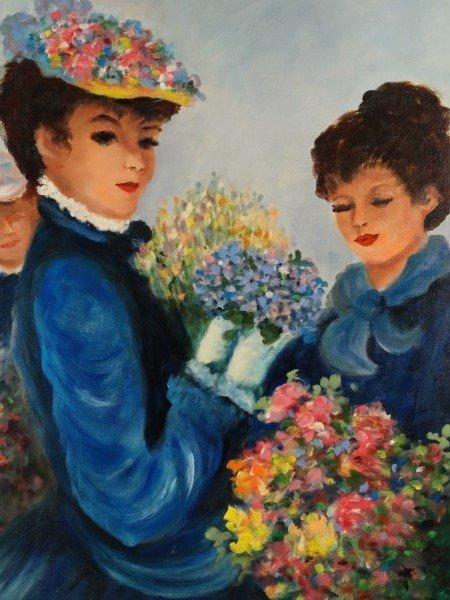 BILLIE - Oil on Canvas, Women