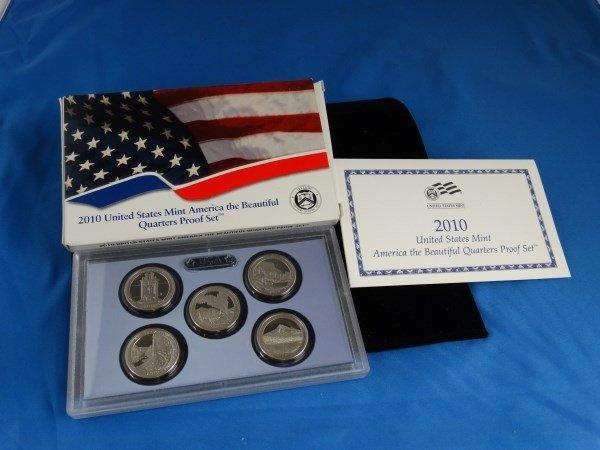 2010 U.S. America the Beautiful Quarter Set