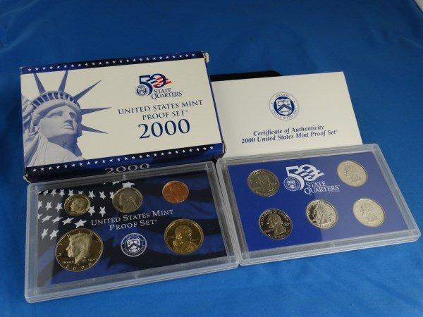 2000 U.S. Mint Proof Set