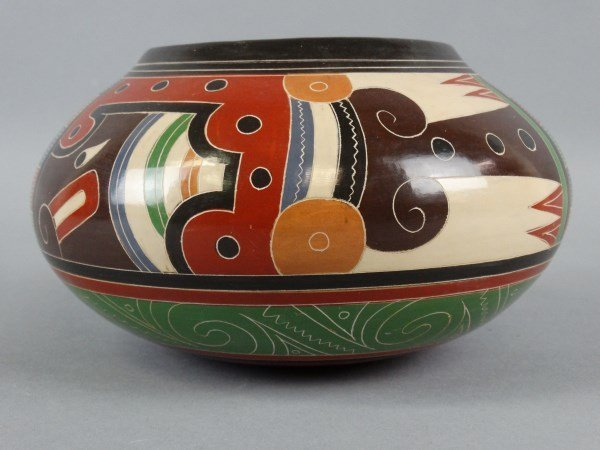Signed Nicaraguan Pottery - 2