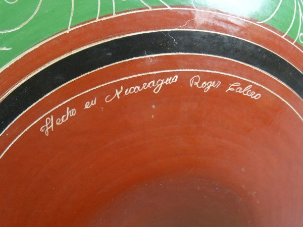 Signed Nicaraguan Pottery - 4