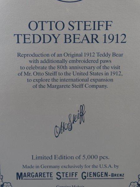 Steiff Otto Steiff Teddy Bear - 4