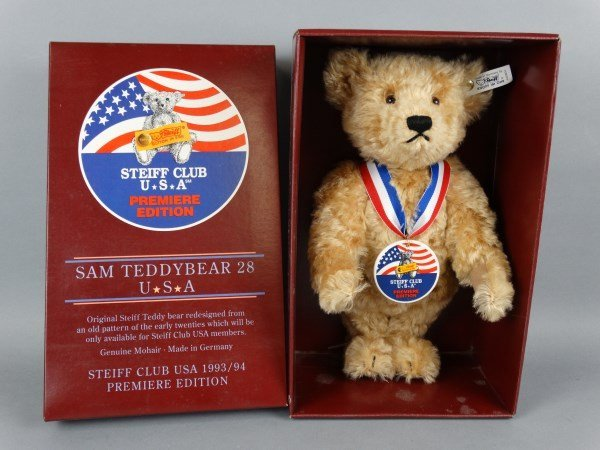 Steiff Club Premiere Edition Sam Teddybear 28