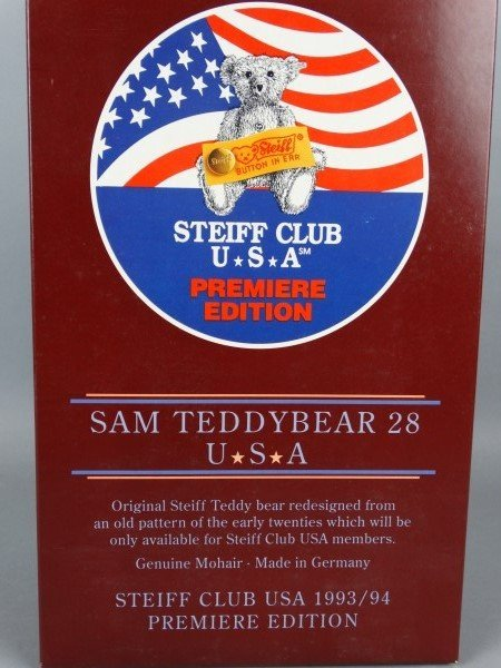 Steiff Club Premiere Edition Sam Teddybear 28 - 4