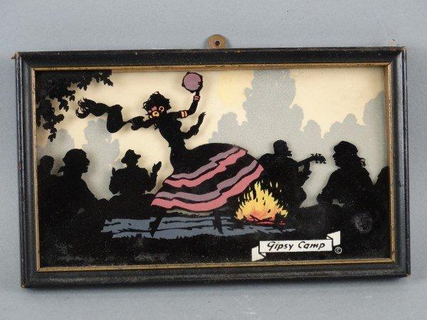 Playful framed Silhouette - Gypsy Camp