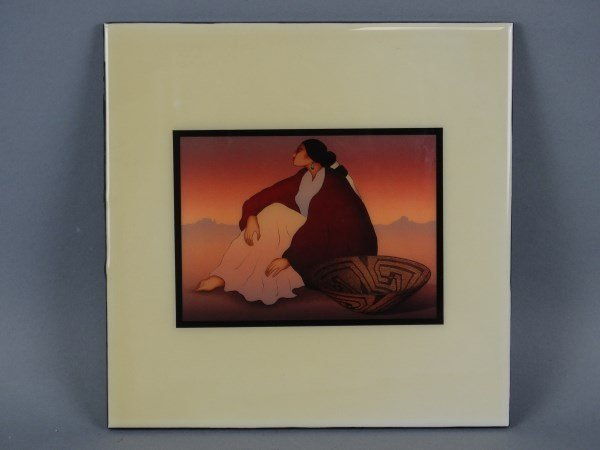 Gorman ceramic tile art rc gorman ceramic tile art dailygadgetfo Image collections