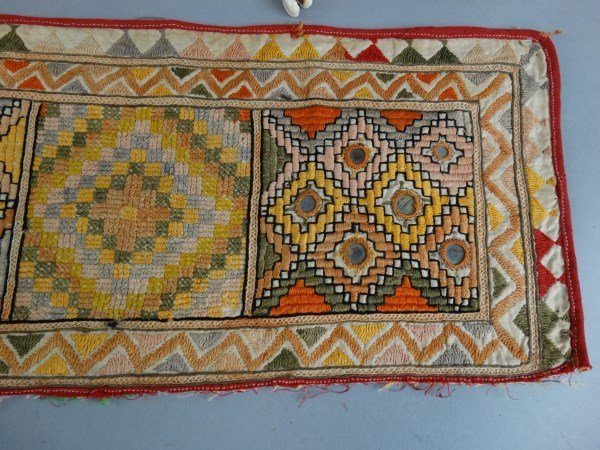Lot of 3 Antique Indian Textiles - 2
