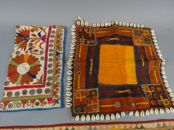 Lot of 3 Antique Indian Textiles - 3