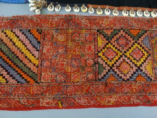 Lot of 3 Antique Indian Textiles - 5
