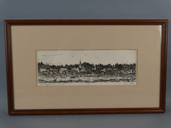 ANN TATE - Signed & Numbered Engraving