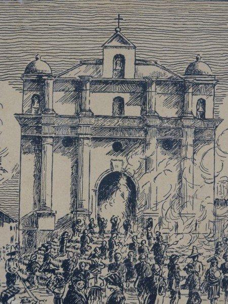 Vintage Engraving by DELFINO SANCHEZ LATOUR - 2
