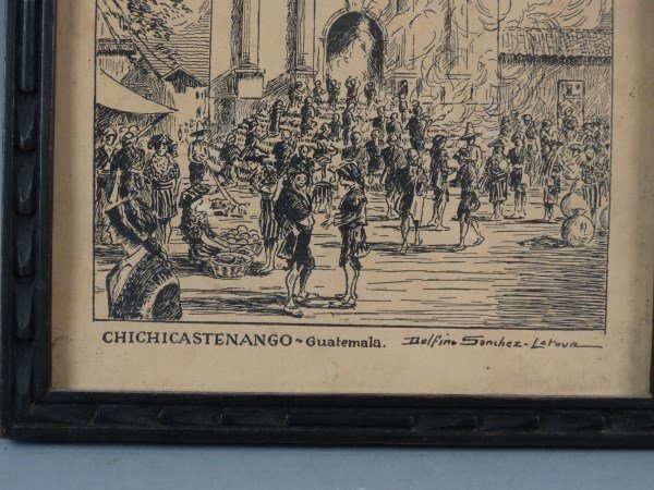 Vintage Engraving by DELFINO SANCHEZ LATOUR - 3