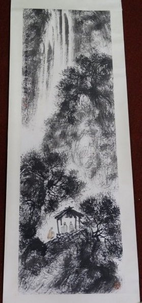 Chinese Watercolor Painting - Gentlemen