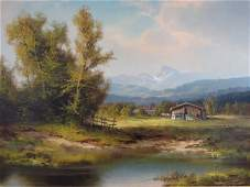 HANS WAGNER  Oil on Canvas Painting
