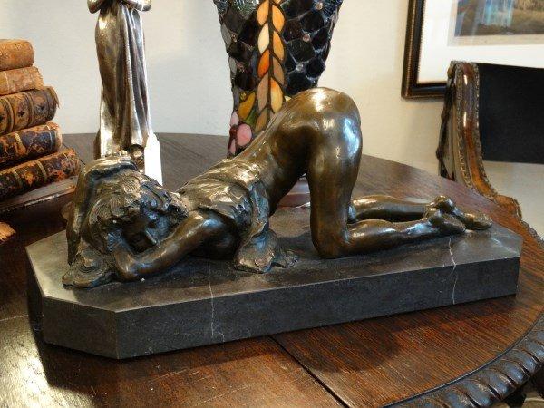 Erotic Bronze Sculpture