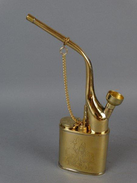 Brass Opium Pipe