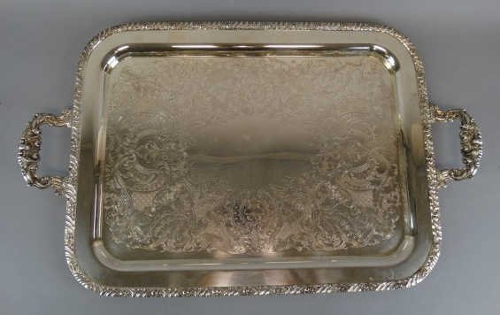 Oneida  Henley Community Silver Plate Waiters Tray