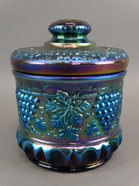 Fenton Art Glass Signed Cookie Jar