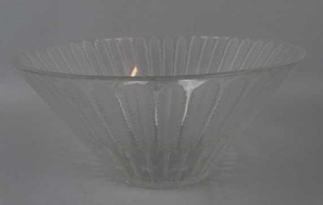Lalique Fern Crystal Bowl