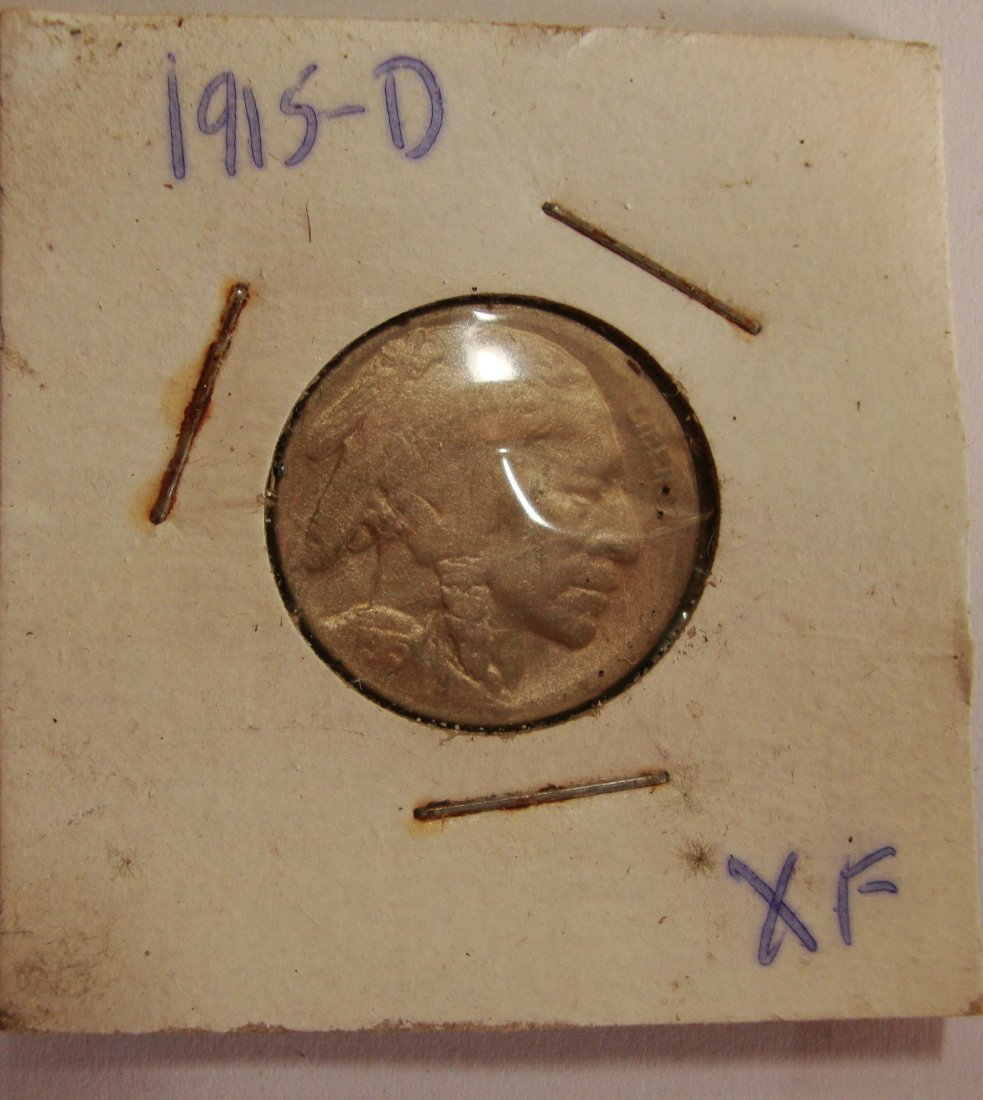 1916 D  Buffalo Nickel 5c XF