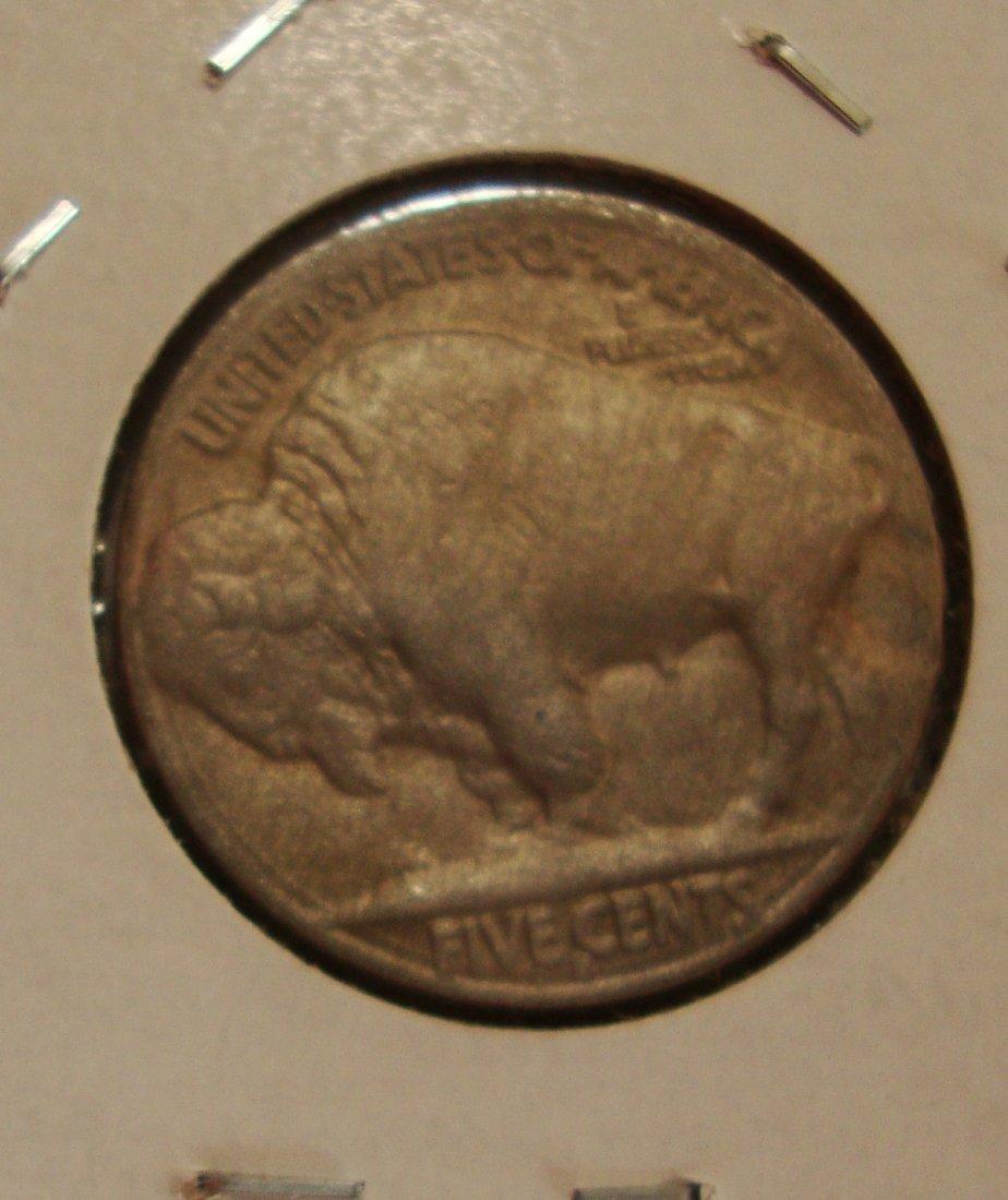 1913 S Type 2 Buffalo Nickel 5c AU - 2