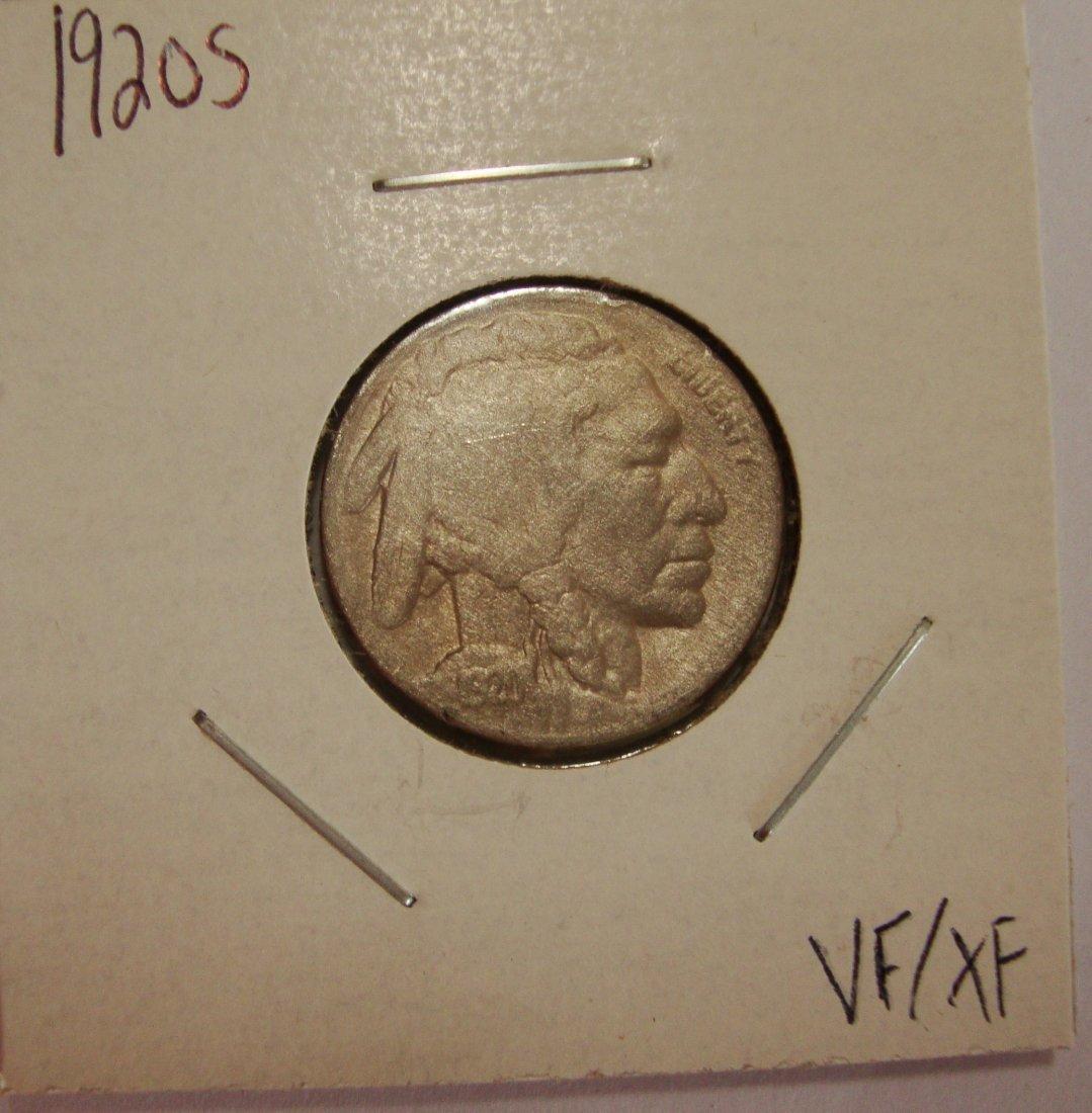 1920 S  Buffalo Nickel 5c VF/XF