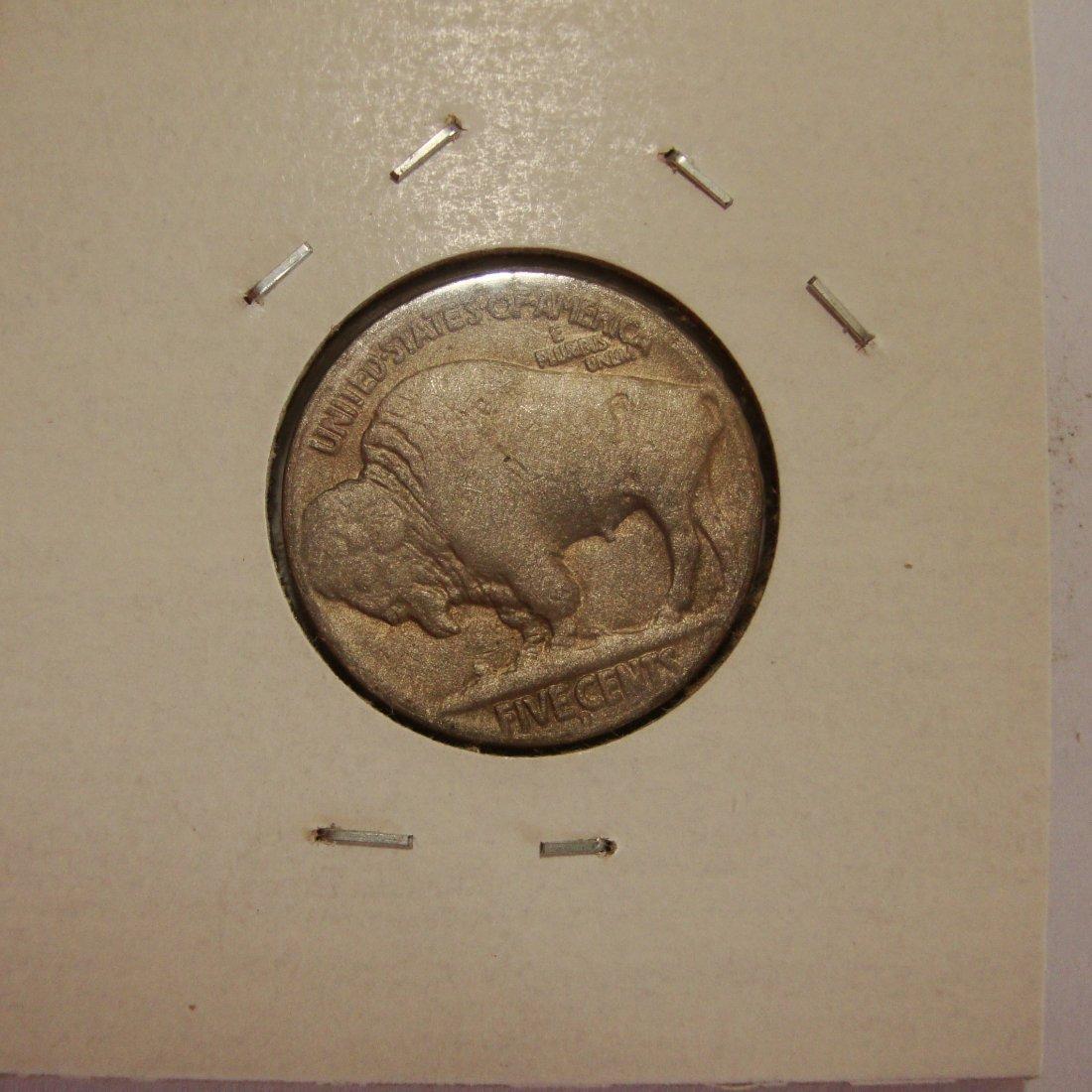 1914 D Buffalo Nickel 5c Key Date AU - 2