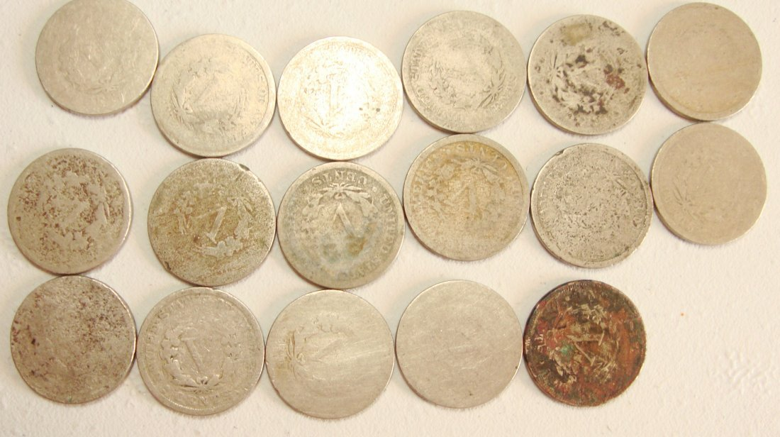 Lot of 17 Rare Liberty Nickels - 2