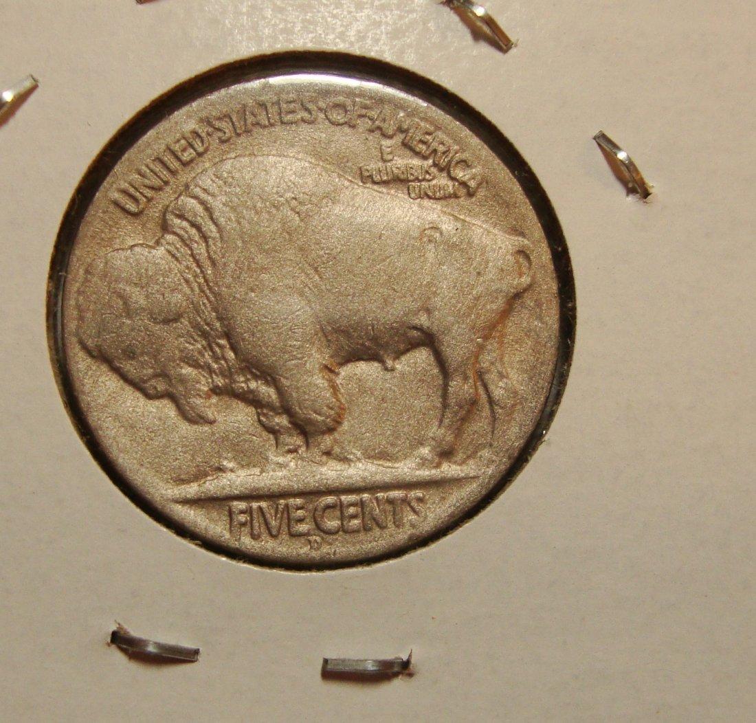 1917 Buffalo Nickel 5c XF+ - 2