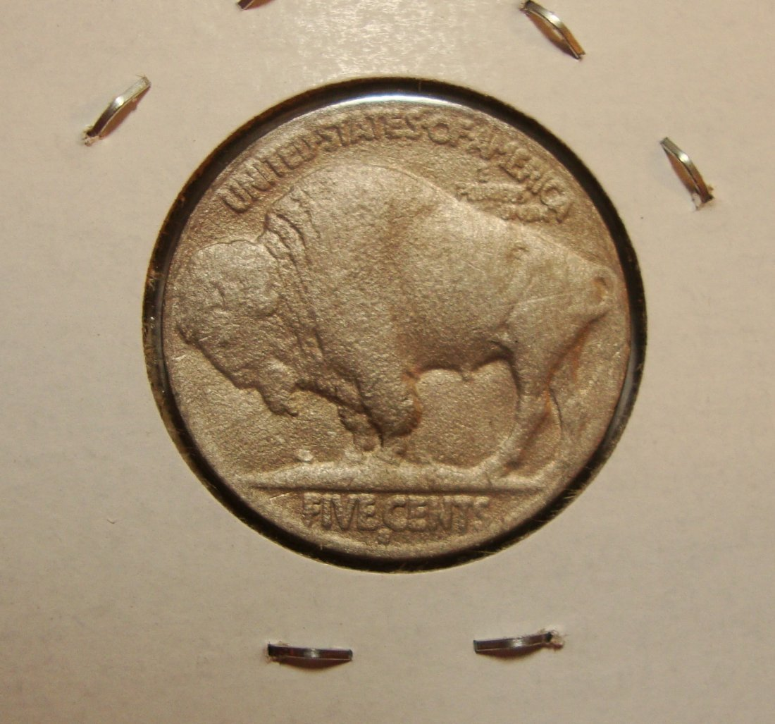 1916 D Buffalo Nickel 5c VF - 2