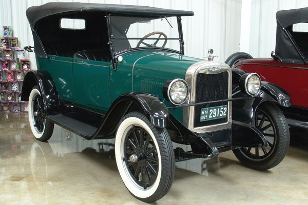 702: 1926 Chevy Superior V Series 4 Dr Touring - NO RES