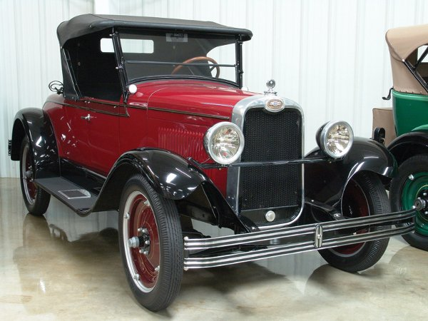 703: 1928 Chevy Roadster Two Dr - NO RESERVE