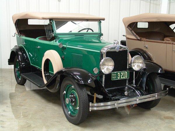 704: 1929 Chevy International AC Four Dr Phaeton - NR