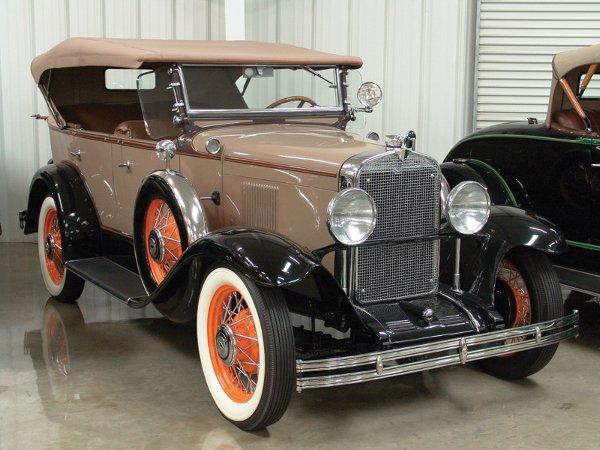 705: 1930 Chevy Universal AD Six Touring - NO RESRV