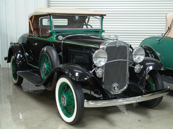 706: 1931 Chevy Independence AE Six 2-Dr Sprt Rdstr