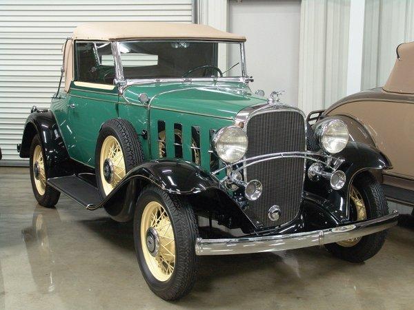 708: 1932 Chevy Confederate BA Landau Cabriolet  - NR