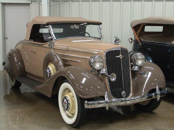 709: 1934 Chevy Master Series DA Six Sport Rdstr - NR
