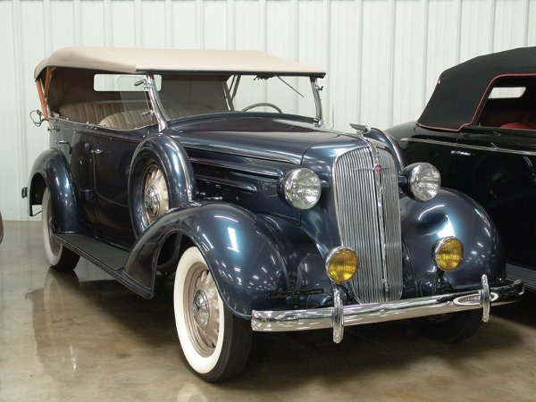 710: 1936 Chevy Six 4- Dr Touring Phaeton - NO RESERVE