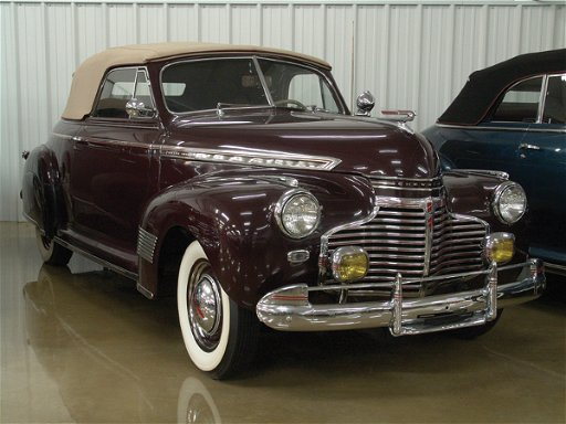 712: 1941 Chevy Special Deluxe KA Six Cvt Coupe - NR