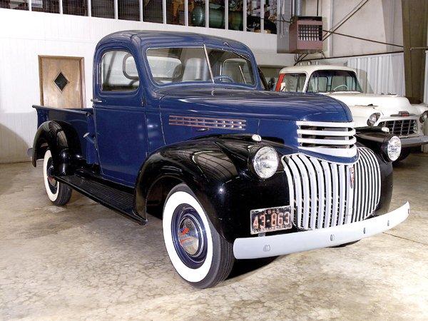 713: 1942 Chevy 1/2 Ton BK 3100 Pickup Truck - NR