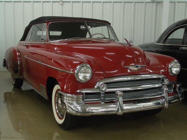 719: 1950 Chevy Deluxe Styleline 2100 Cvt - NO RESRV