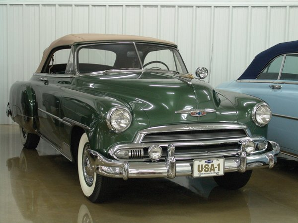 721: 1951 Chevy Deluxe Styleline 2100 Cvt - NO RESERVE