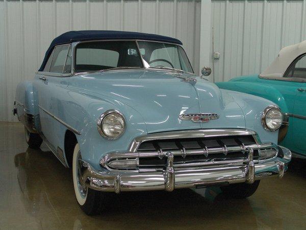722: 1952 Chevy Deluxe Styleline 2100 Cvt - NO RESERVE