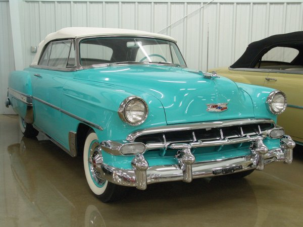 724: 1954 Chevy Bel Air Convertible - NO RESERVE